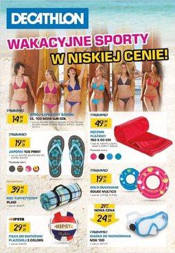 Gazetka promocyjna Decathlon, ważna od 14.06.2013 do 21.07.2013.