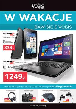 Gazetka promocyjna Vobis, ważna od 01.07.2014 do 31.08.2014.