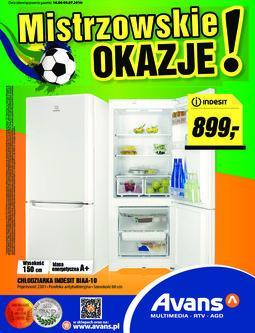 Gazetka promocyjna Avans, ważna od 16.06.2014 do 09.07.2014.