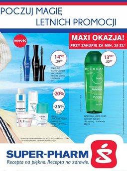 Gazetka promocyjna Super-Pharm, ważna od 26.06.2014 do 31.08.2014.