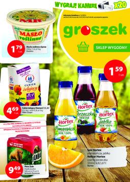 Gazetka promocyjna Groszek, ważna od 03.07.2014 do 15.07.2014.