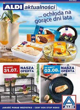 Gazetka promocyjna Aldi, ważna od 31.07.2013 do 06.08.2013.