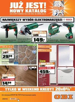 Gazetka promocyjna OBI, ważna od 04.07.2014 do 17.07.2014.