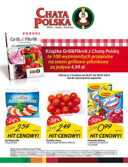 Gazetka promocyjna Chata Polska, ważna od 24.07.2014 do 30.07.2014.