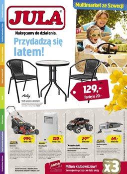 Gazetka promocyjna Jula, ważna od 23.07.2014 do 10.08.2014.