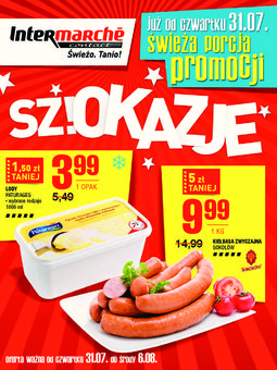 Gazetka promocyjna Intermarche, ważna od 31.07.2014 do 06.08.2014.