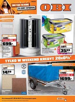 Gazetka promocyjna Obi, ważna od 21.06.2013 do 04.07.2013.