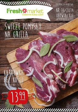 Gazetka promocyjna Freshmarket, ważna od 30.07.2014 do 12.08.2014.