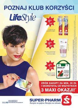 Gazetka promocyjna Super-Pharm, ważna od 31.07.2014 do 13.08.2014.