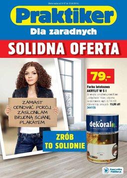 Gazetka promocyjna Praktiker, ważna od 31.07.2014 do 12.08.2014.