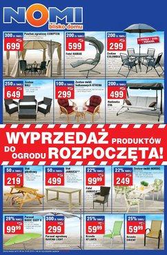 Gazetka promocyjna Nomi, ważna od 01.08.2014 do 14.08.2014.