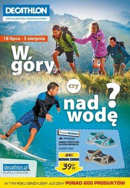 Gazetka promocyjna Decathlon, ważna od 18.07.2014 do 03.08.2014.
