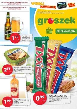 Gazetka promocyjna Groszek, ważna od 31.07.2014 do 12.08.2014.