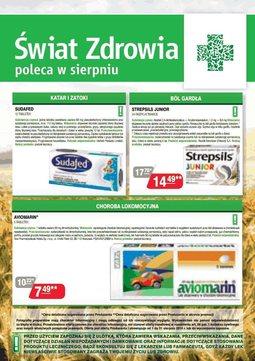 Gazetka promocyjna Świat Zdrowia, ważna od 01.08.2014 do 31.08.2014.