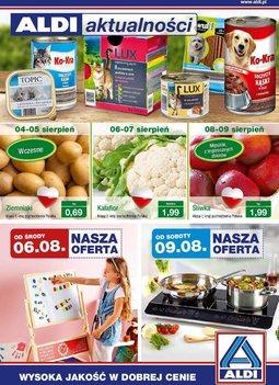 Gazetka promocyjna Aldi, ważna od 06.08.2014 do 12.08.2014.