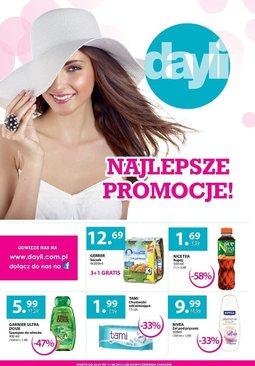Gazetka promocyjna Dayli, ważna od 29.07.2013 do 11.08.2013.