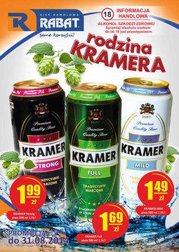 Gazetka promocyjna Rabat, ważna od 04.08.2014 do 31.08.2014.
