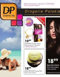 Gazetka promocyjna Drogerie Polskie, ważna od 13.08.2014 do 27.08.2014.