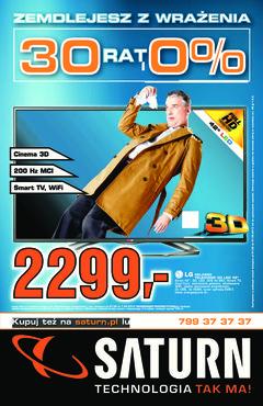 Gazetka promocyjna Saturn, ważna od 01.08.2013 do 07.08.2013.
