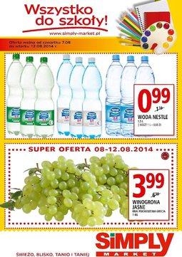 Gazetka promocyjna Simply Market, ważna od 07.08.2014 do 12.08.2014.