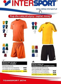 Gazetka promocyjna Intersport, ważna od 08.08.2014 do 31.12.2014.