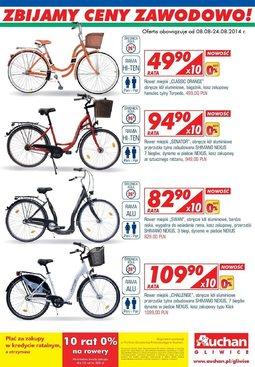 Gazetka promocyjna Auchan, ważna od 08.08.2014 do 24.08.2014.