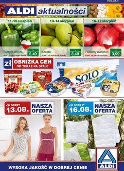 Gazetka promocyjna Aldi, ważna od 13.08.2014 do 19.08.2014.