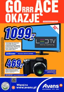 Gazetka promocyjna Avans, ważna od 01.08.2013 do 21.08.2013.