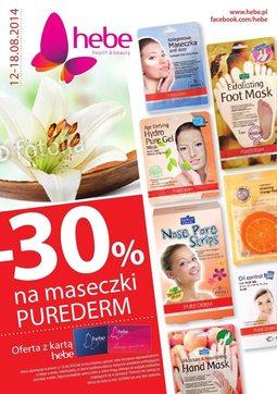 Gazetka promocyjna Hebe, ważna od 12.08.2014 do 18.08.2014.