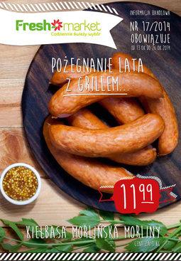 Gazetka promocyjna Freshmarket, ważna od 13.08.2014 do 26.08.2014.