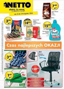 Gazetka promocyjna Netto, ważna od 21.08.2014 do 24.08.2014.