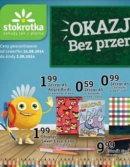 Gazetka promocyjna Stokrotka, ważna od 14.08.2014 do 03.09.2014.