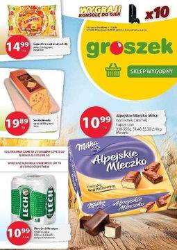 Gazetka promocyjna Groszek , ważna od 14.08.2014 do 26.08.2014.