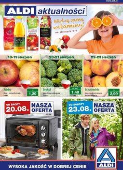 Gazetka promocyjna Aldi, ważna od 20.08.2014 do 26.08.2014.