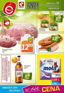 Gazetka promocyjna EKO, ważna od 16.08.2014 do 21.08.2014.