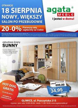Gazetka promocyjna Agata , ważna od 18.08.2014 do 31.08.2014.