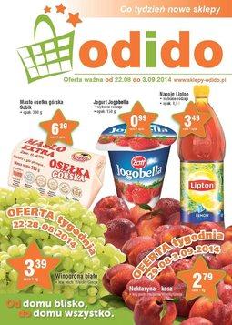Gazetka promocyjna ODIDO, ważna od 22.08.2014 do 03.09.2014.