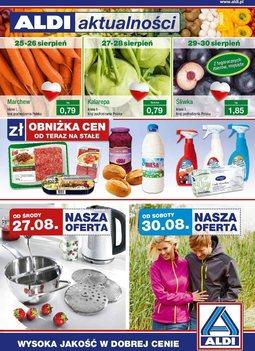 Gazetka promocyjna Aldi, ważna od 27.08.2014 do 02.09.2014.