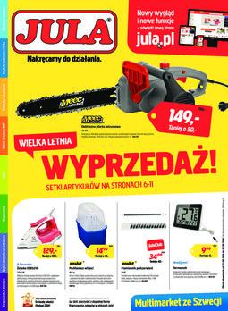 Gazetka promocyjna Jula, ważna od 22.08.2014 do 07.09.2014.
