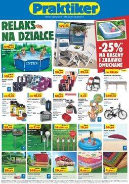 Gazetka promocyjna Praktiker, ważna od 21.06.2013 do 27.06.2013.