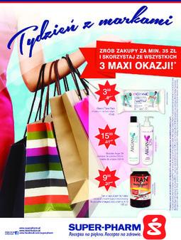 Gazetka promocyjna Super-Pharm, ważna od 28.08.2014 do 03.09.2014.