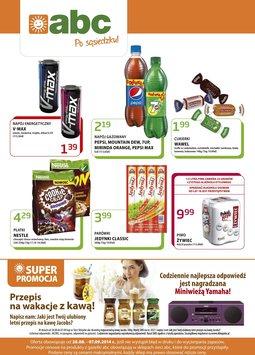 Gazetka promocyjna ABC, ważna od 28.08.2014 do 07.09.2014.