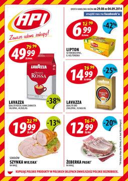 Gazetka promocyjna Api Market, ważna od 29.08.2014 do 04.09.2014.