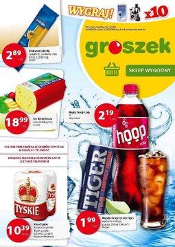 Gazetka promocyjna Groszek, ważna od 28.08.2014 do 09.09.2014.