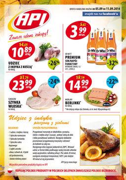 Gazetka promocyjna Api Market, ważna od 05.09.2014 do 11.09.2014.