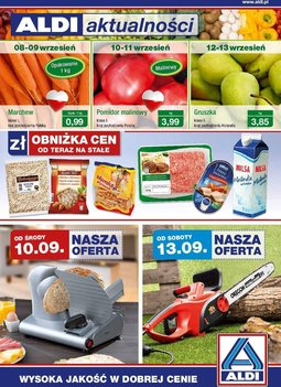 Gazetka promocyjna Aldi, ważna od 10.09.2014 do 16.09.2014.