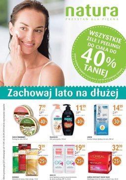 Gazetka promocyjna Drogerie Natura, ważna od 11.09.2014 do 24.09.2014.