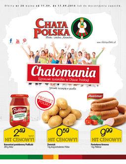 Gazetka promocyjna Chata Polska, ważna od 11.09.2014 do 17.09.2014.