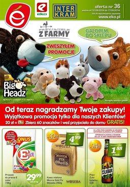 Gazetka promocyjna EKO, ważna od 12.09.2014 do 17.09.2014.