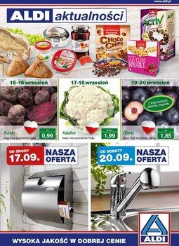 Gazetka promocyjna Aldi, ważna od 17.09.2014 do 23.09.2014.